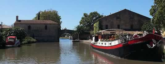 self drive canal boats Le Somail